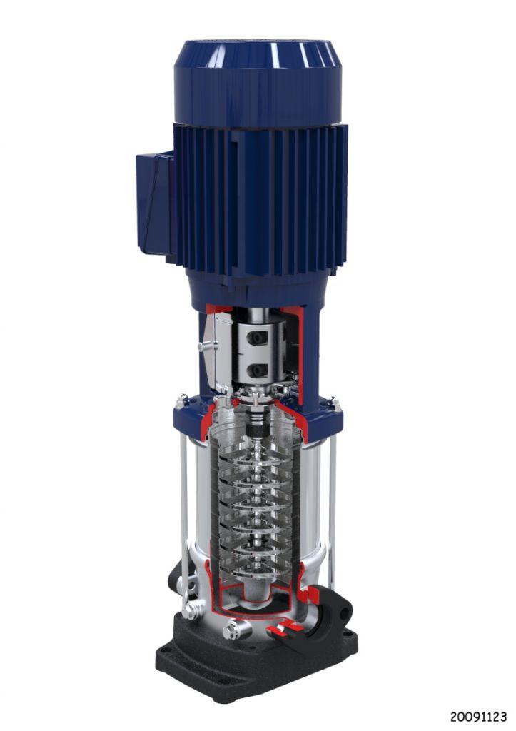 Dp Dpv Vertical Multistage Pump Prestige Pumps Ltd