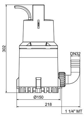 Zehnder ZPK 30 Dimensions
