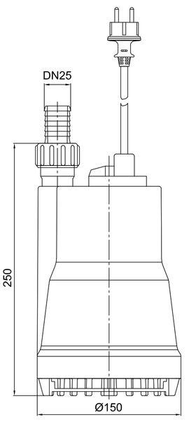 Zehnder ZM 280 Dimensions